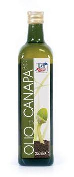 Olio di semi di canapa sativa 250 ml BIO