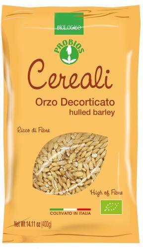 Orzo decorticato coltivato in Italia 400 g BIO