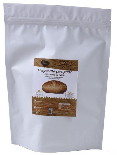 Pane Dulight con semi di Chia (in polvere) 230g