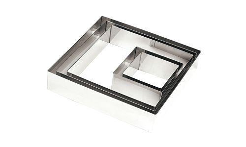 Quadrato inox 30x30 H6 (professionle)
