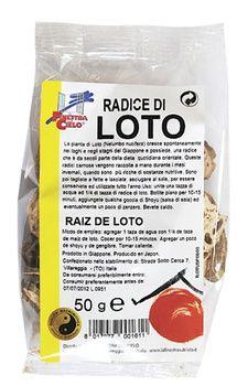 Radice di loto a fettine 50 g BIO