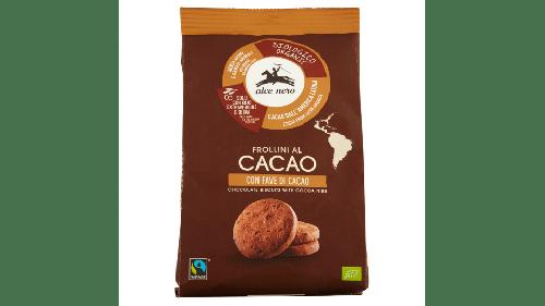 Frollini al Cacao con fave di cacao 250g BIO