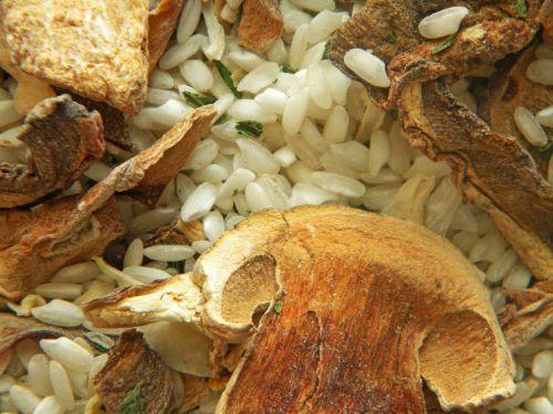 Risotto funghi e tartufo g.300