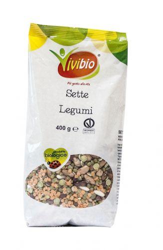 Zuppa misto 7 legumi 400g BIO