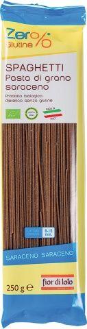 Spaghetti di grano saraceno Zero% Glutine 250 g BIO