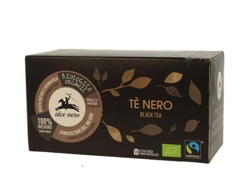 Tè nero equo solidale Agricoltori del Nilgiri 35 g - 20 filtri BIO