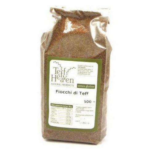 Teff (fiocchi integrali) 375 g senza glutine