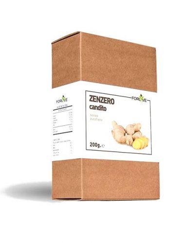 Zenzero candito senza zucchero 200g