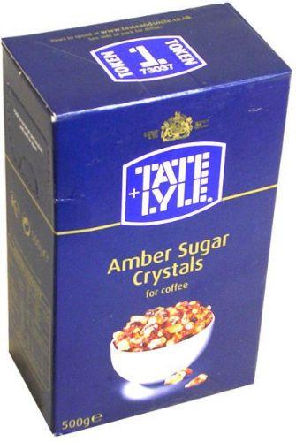 Zucchero ambrato in cristalli grandi 500 g