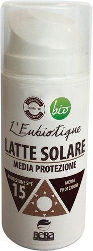Latte solare spf 15 150 ml BIO  (6 pezzi)