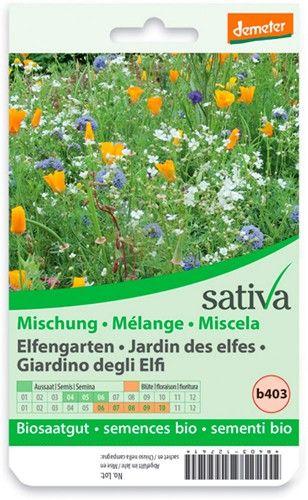 Miscela di fiori - il giardino degli elfi 1.25 g BIO  (min. acquisto 10 pezzi)