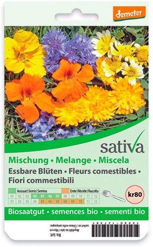 Miscela fiori commestibili 2.25 g BIO  (min. acquisto 10 pezzi)