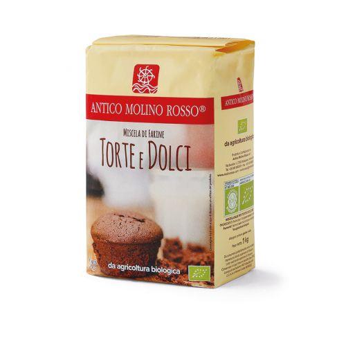 Miscela di farine per torte e dolci 1 kg BIO  (min. acquisto 10 pezzi)