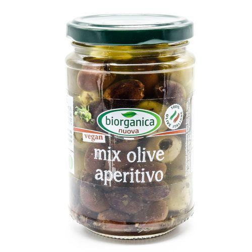 Gastronomia da banco - mix olive aperitivo sott'olio 1.6 kg BIO  (6 pezzi)