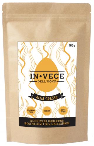 In-Vece dell'Uovo - Alga Grassa - Sostitutivo del tuorlo d'uovo - 100 g