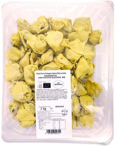 Panzerotto con pesto di zucchine 1 kg BIO  (min. acquisto 6 pezzi)