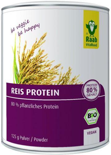 Proteine di riso in polvere 125 g BIO  (6 pezzi)