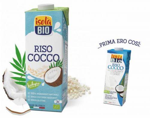 Riso cocco drink 1 L BIO senza glutine  (min. acquisto 10 pezzi)