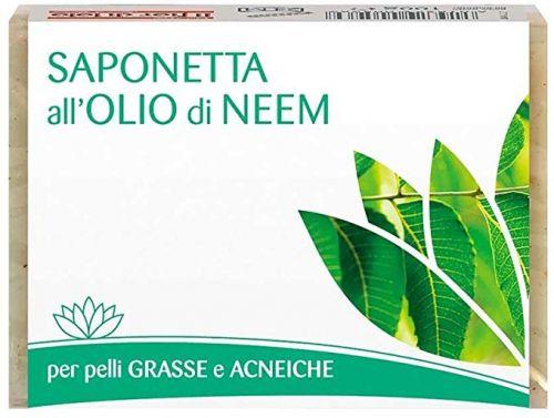 Saponetta all'olio di neem 100 g (min. acquisto 10 pezzi)