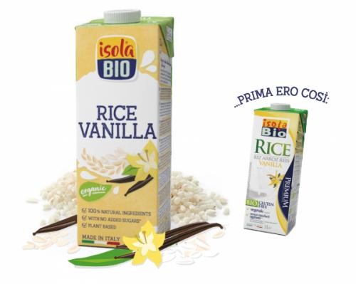 Rice alla vaniglia 1 L BIO senza glutine  (min. acquisto 10 pezzi)