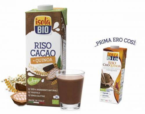 Riso cho quinoa drink 1 L BIO senza glutine  (min. acquisto 10 pezzi)