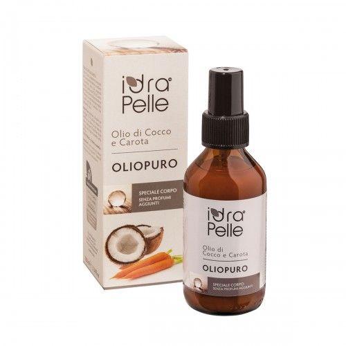 Oliopuro - olio di cocco e carota 100 g (6 pezzi)