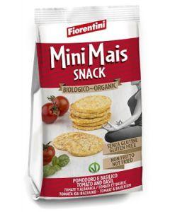 Bio Mini Mais Snack Al Pomodoro E Basilico 50 g
