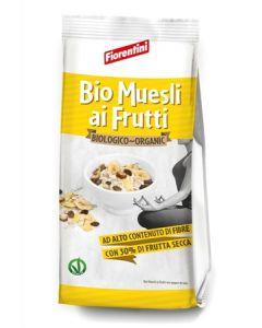 Bio Muesli 32% Frutta (Uvetta, Banane, Datteri, Albicocche) In Busta 350 g