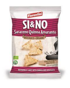 Bio Si&No Trian g. Saraceno Con Semi Quinoa+Amaranto 20 g