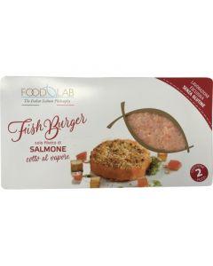 Fishburger di salmone 2x160 g senza glutine  (6 pezzi)