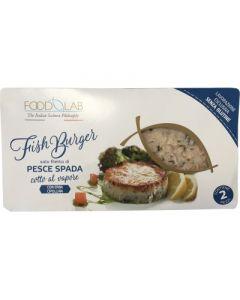 Fishburger di pesce spada 2x80 g senza glutine  (6 pezzi)