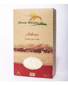 Riso bianco arborio 1 kg BIO  (min. acquisto 6 pezzi)