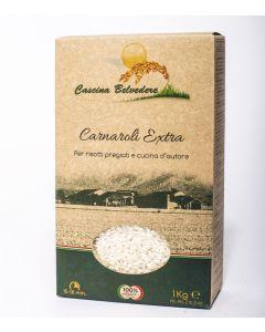 Riso bianco carnaroli 1 kg BIO  (min. acquisto 6 pezzi)