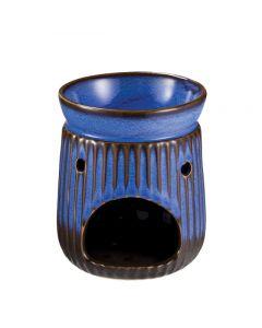 Brucia essenze anticato blu in ceramica 330  (min. acquisto 10 pezzi)