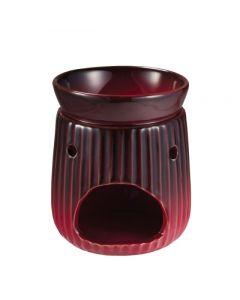 Brucia essenze anticato rosso in ceramica 330 g (min. acquisto 10 pezzi)