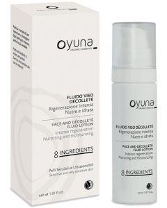 8 ingredients - fluido viso décolleté 30 ml BIO  (6 pezzi)