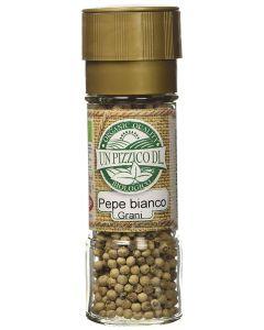 Pepe bianco in grani con tappo macina 50 g BIO  (min. acquisto 6 pezzi)