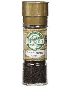 Pepe nero in grani con tappo macina 50 g BIO  (min. acquisto 10 pezzi)