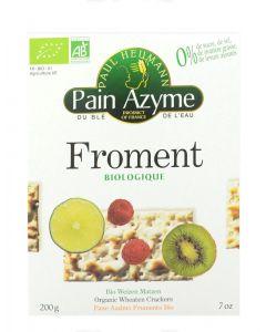 Pane azimo di frumento integrale 200 g BIO  (min. acquisto 10 pezzi)
