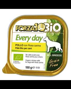 Patè al pollo per cani adulti 100 g BIO