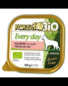 Patè al salmone per cani adulti 100 g BIO
