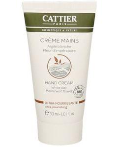 Crème mains - crema mani all'argilla bianca 80 g BIO  (6 pezzi)