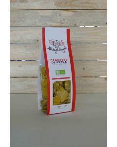 Crackers di Avena con Curcuma 200g BIO