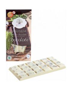 Barretta cioccolata effervescente per bagno arancia 120 g BIO  (min. acquisto 6 pezzi)