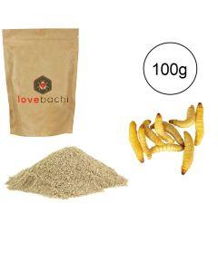 Farina di Larva del miele 100% pura 100g