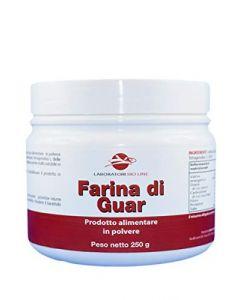 Farina di semi di Guar 250g senza glutine
