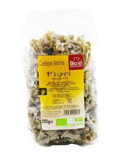 Fiori - pasta di semola alla canapa 350 g BIO  (min. acquisto 10 pezzi)