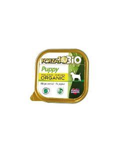 Patè al pollo per cani cuccioli 100 g BIO
