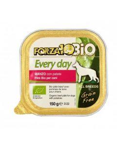Patè al manzo per cani adulti 100 g BIO