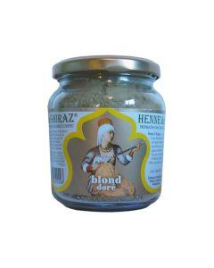 Hennè colorante per capelli - biondo dorato 150 g BIO  (min. acquisto 10 pezzi)